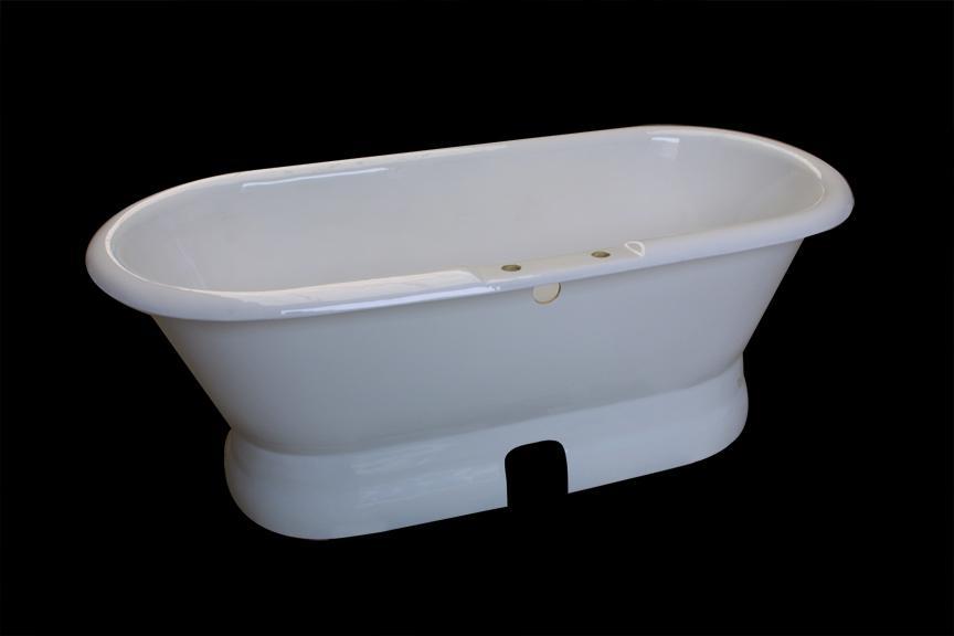 Classical royal clawfeet cast iron enamel bathtub  4
