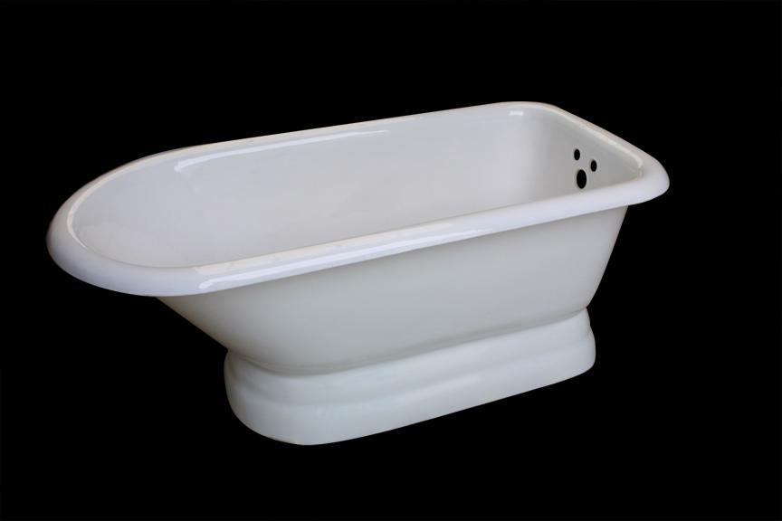 Classical royal clawfeet cast iron enamel bathtub  5