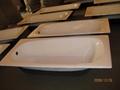 Cast iron bathtub drop-in enameled cast iron bathtub 2