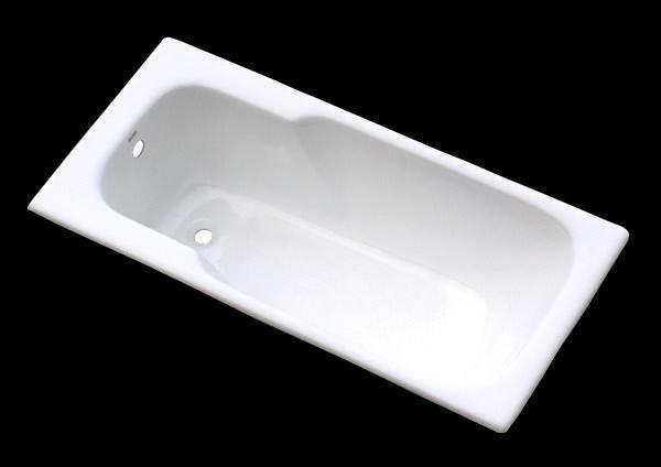 Retangular cast iron enamel bathtub drop-in  2