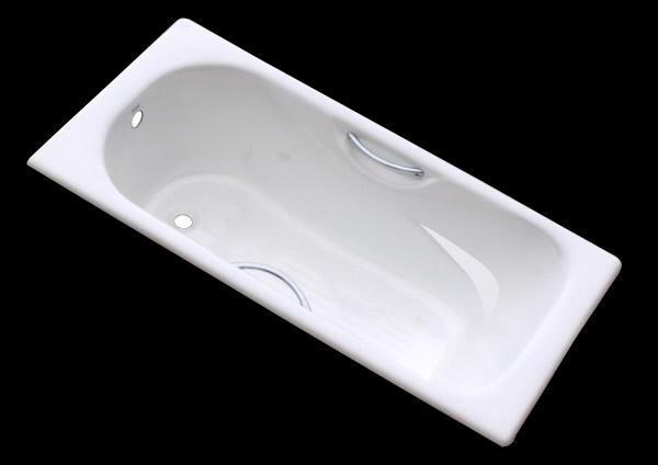 Retangular cast iron enamel bathtub drop-in  4