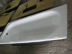 Best quality cast iron enamel bathtub lower price