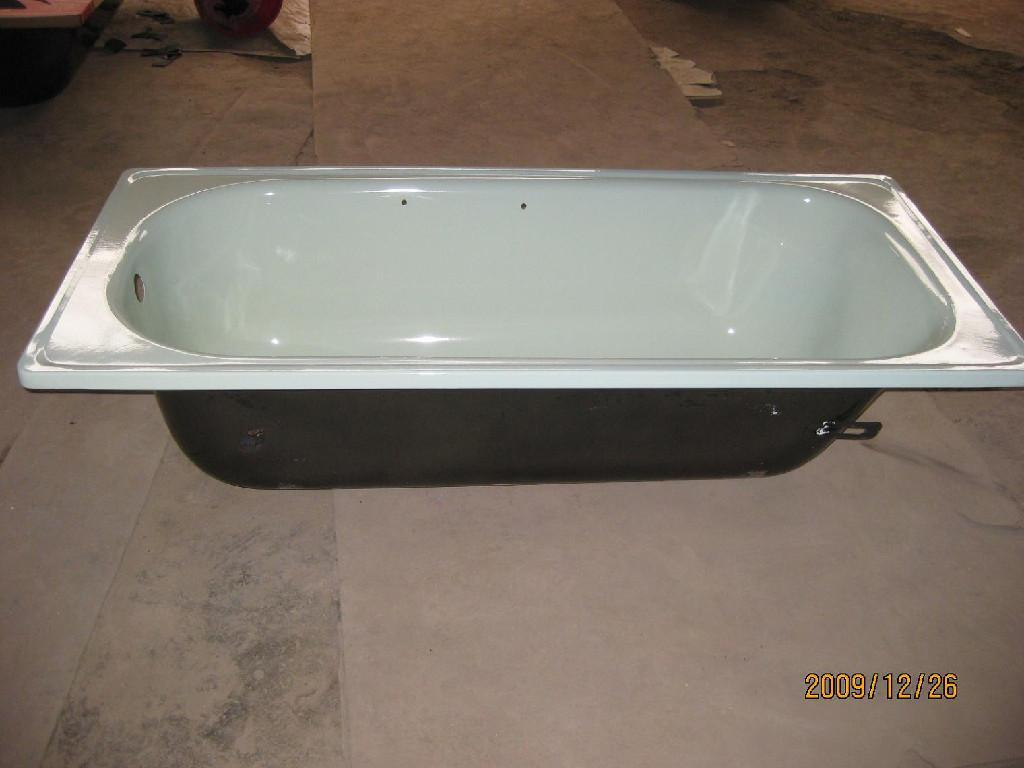 Best quality enameled steel bathtub wholesale distribution made in China 2