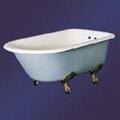 Luxury antique cast iron enamel bathtub 3