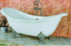 Royal classical cast iron enamel bathtub