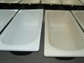 Wholesale distribution Enameled Steel bathtub 1500 2