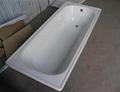 Steel enamel bathtub lowest price China.
