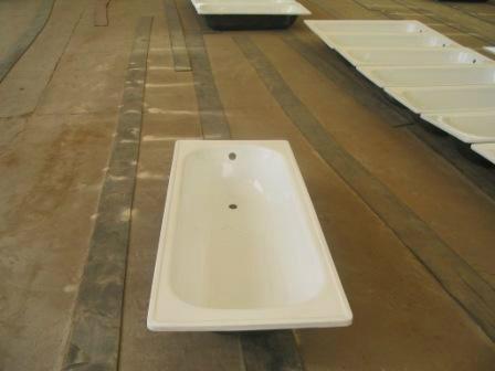 Steel enamel bathtub lowest price China. 5