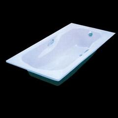 Luxury steel enamel bathtub