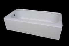 Apron skirt steel enamel bathtub