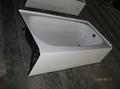 Apron enameled steel bathtub with skirt 3