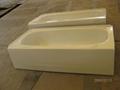 Apron enameled steel bathtub with skirt 5