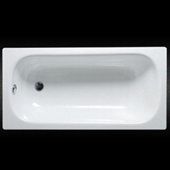 Enameled steel bathtub shower tray wholesale in China