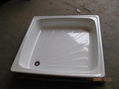 Wholesale steel enamel shower tray 80x80 90x90 cheaper price