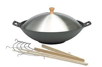 wholesale pre-seasoned cast iron cookware kitchenware woks 1