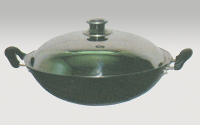 wholesale pre-seasoned cast iron cookware kitchenware woks 2
