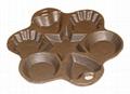 cast iron cookware cake pan muffin pan