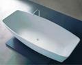 Chinese Stone resin curve bathtub 3