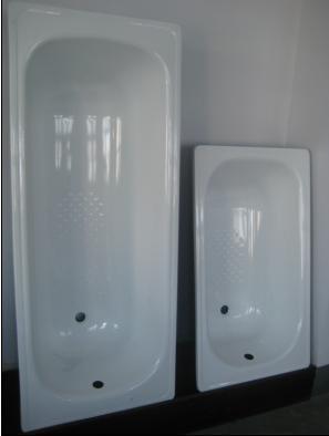Wholesale distribution Enameled Steel bathtub 1500 4