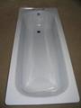 Wholesale distribution Enameled Steel bathtub 1500 5