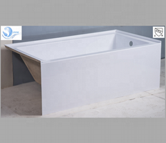 suqare built-in modern acrylic bathtub lowest price