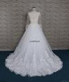 法國蕾絲A-line 婚紗 4