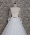法國蕾絲A-line 婚紗 3