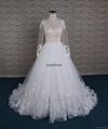 Goreous france lace A-line wedding dress