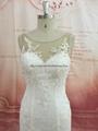 新款鱼尾蕾丝婚纱 2