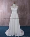仿古蕾絲雪紡婚紗