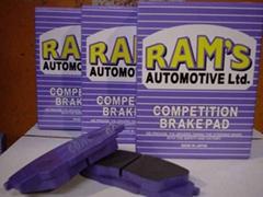 GP4-5 Racing Brake Pad - 0~800 C