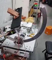 360度公轉自轉球體測試機(影片)