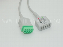 GE-Marqutte ECG Trunk Cable