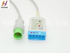 Spacelabs 17 pin ECG Tru