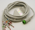 Mindray  One-piece EKG Cable With Leads