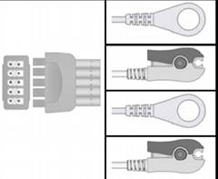 GE- Marqutte ECG Leadwires E9002ZW