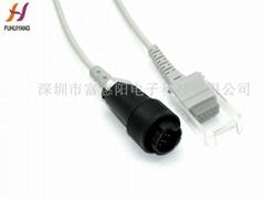 HRS spo2  sensor  extension cable