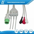 Biolight one-series  ECG 12pin 3leads snap  1