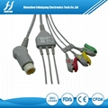 Philips 12 Pins 3leads Clip IEC Cables