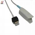Palco 8pin adult finger clip spo2 sensor