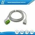 日本光电监护仪心电电缆