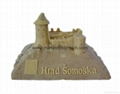 Somoska Castle Resin Castle Miniature
