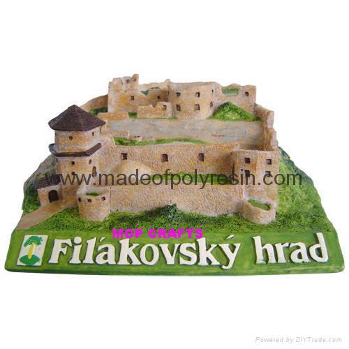 Polyresin Castle Resin Castle Miniature Castle 1