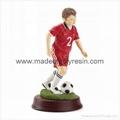 Resin Soccer Boy Figure  Soccer boy