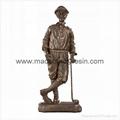 Polyresin Liberty Bronze Golfer