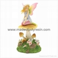 Fairy on Mushroom with LED Light  LED