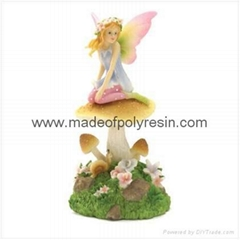 Fairy on Mushroom with LED Light  LED Crafts