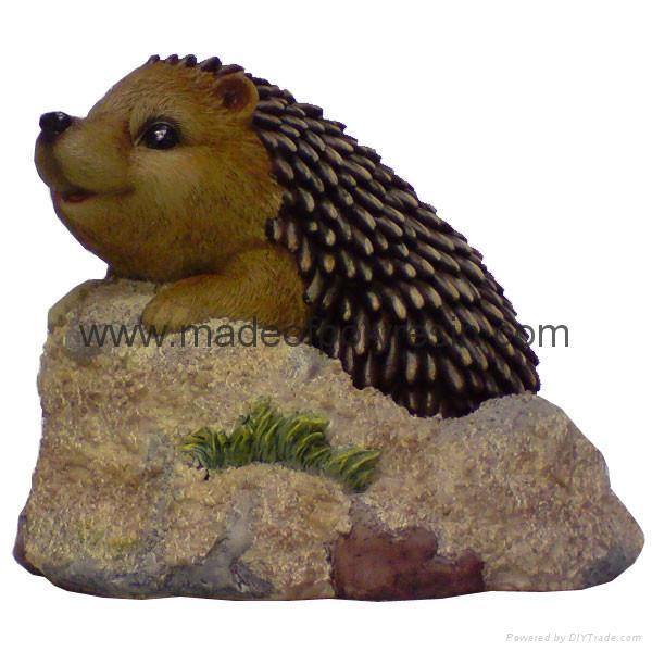hedgehog ornament garden hedgehog decoration 1