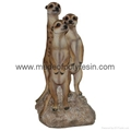 Meerkat With Family and Friends Ornament