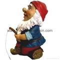 Polyresin Garden Gnome Gnome Statue